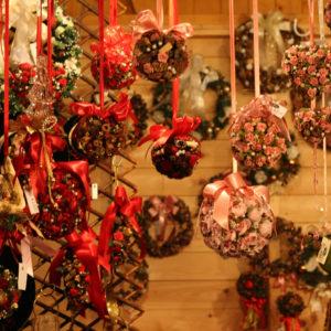 ドイツクリスマスマーケットにて。