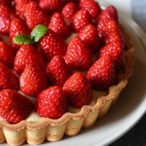 季節のフルーツ・苺タルト☆