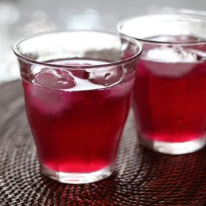 2016.8.17 手作りの紫蘇ジュース。