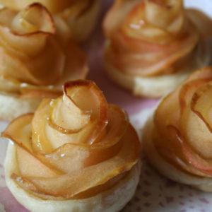 薔薇のアップルパイ。