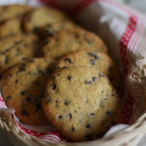 ステラおばさんのチョコチップクッキーを再現してみました。