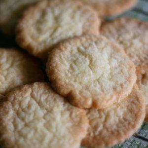 お菓子探偵ハンナシリーズのレシピから、オールドファッションド・シュガークッキー。https://lavoro-libero.com/?p=3837