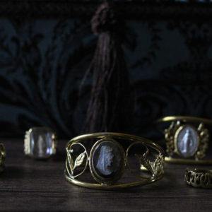 宝物のジュエリーボックスと作品たち。