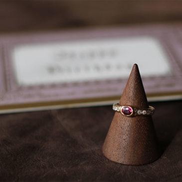 ルビーとダイヤモンドのリング(3)