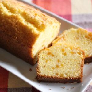 オレンジマーマレードのバターケーキ♡