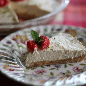 アイリッシュクリームチーズケーキ。