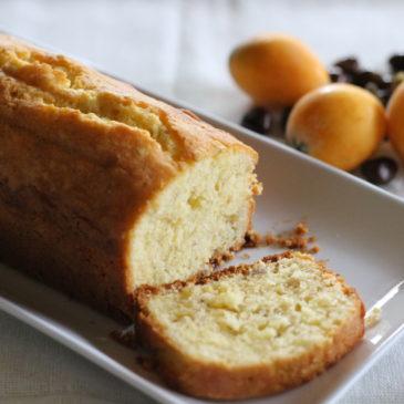 ビワの種のパウンドケーキ