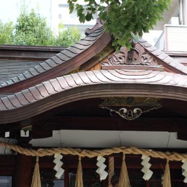 サムハラ神社へ