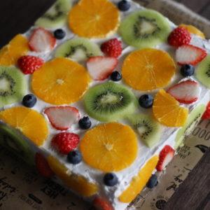 フルーツ断面ケーキ♡