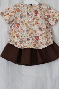 2歳のお誕生日のお祝いに贈ったベビー服。