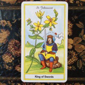 10月25日 ソードの王<セントジョーンズワート>