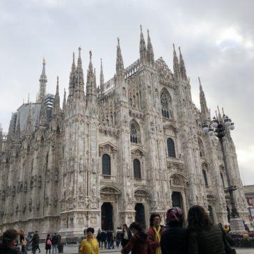 イタリア旅行②~ミラノ~