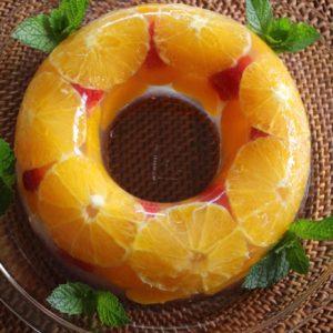 フルーツゼリーケーキ♡