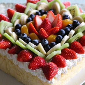 フルーツデコレーションケーキ♡